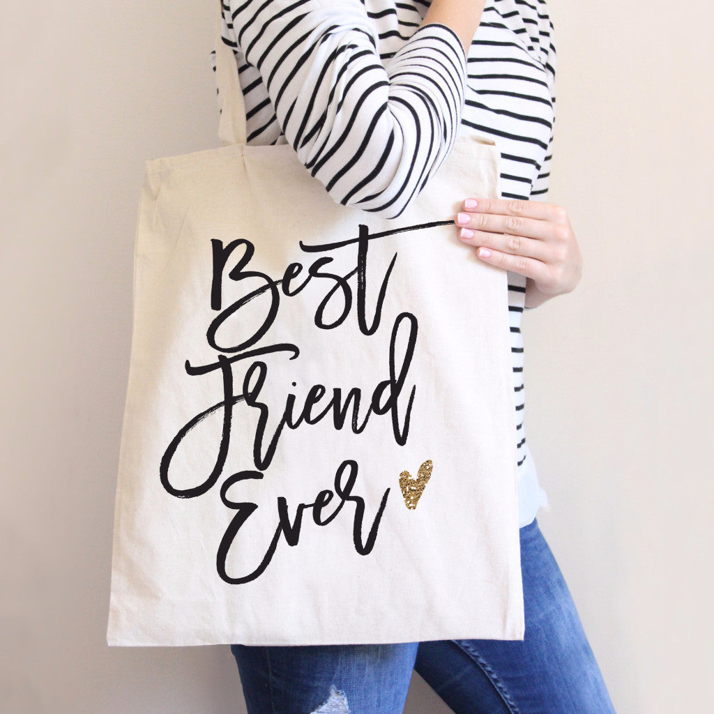 Best Friend Ever Tote Bag - Wedding Decor Gifts