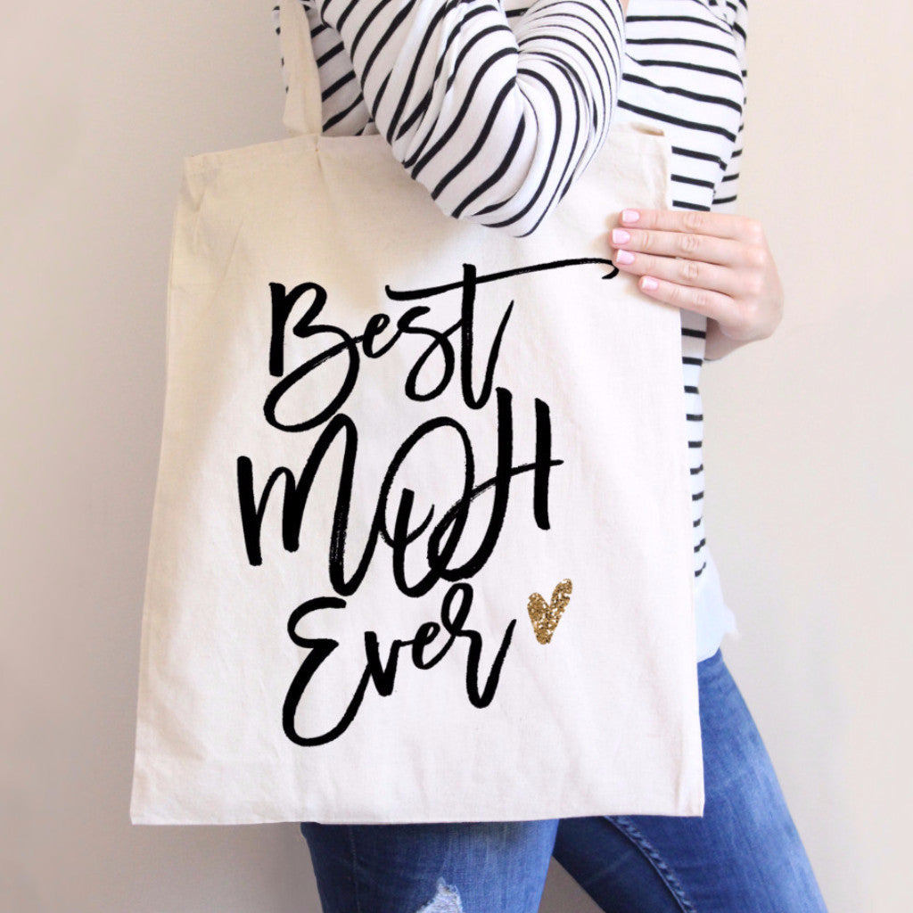 Best MOH Ever Tote Bag - Wedding Decor Gifts