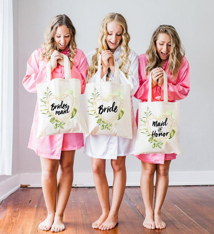 Wedding Bags for Bridesmaids and Bride - Wedding Decor Gifts