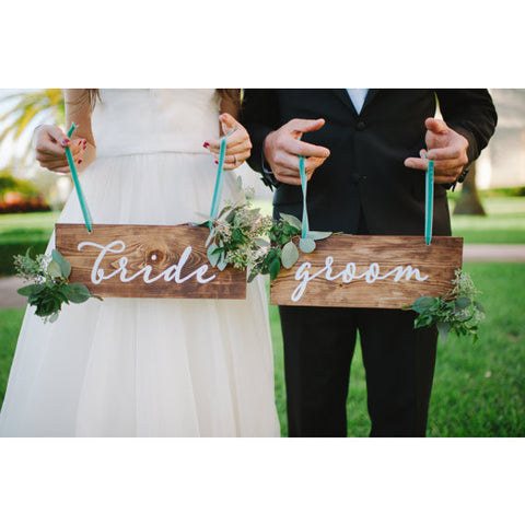Wedding Sign Decal Stickers - Wedding Decor Gifts