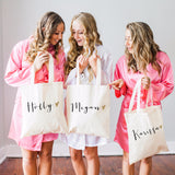 Personalized Glam Tote Bag