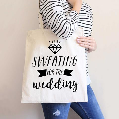 Exercise Wedding Tote Bag - Wedding Decor Gifts