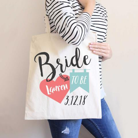 Bride to Be Tote Bag - Wedding Decor Gifts