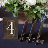 Wedding Table Numbers on Stands - Wedding Decor Gifts