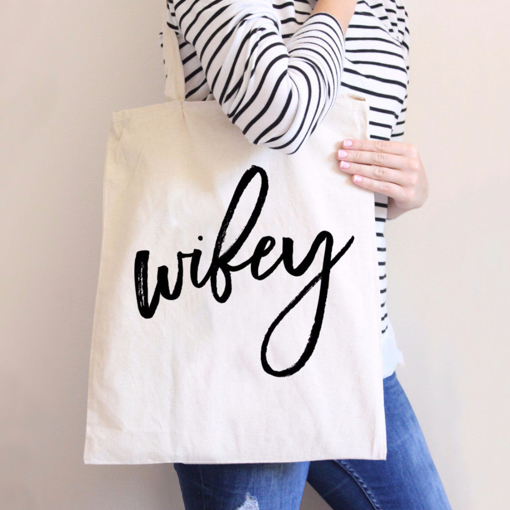 Wifey Tote Bag - Wedding Decor Gifts