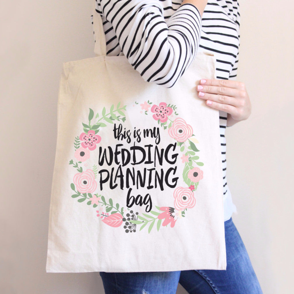 Wedding Planning Tote Bag - Wedding Decor Gifts
