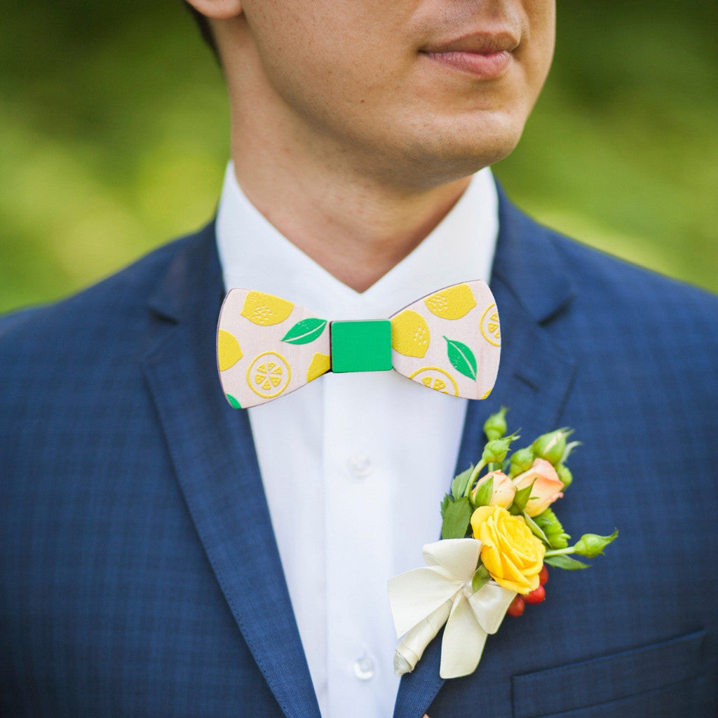 Wooden Bowties - Wedding Decor Gifts