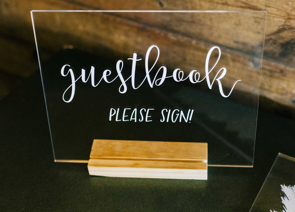 Guestbook Sign for Wedding - Wedding Decor Gifts