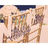 Anchor & Sail Chair Signs - Wedding Decor Gifts