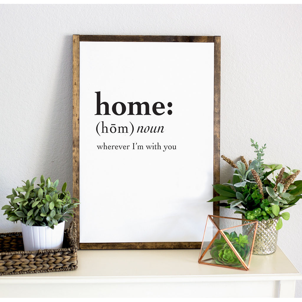 Home Framed Artwork - Wedding Decor Gifts
