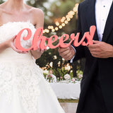 Cheers! Table Sign - Wedding Decor Gifts