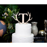 Wedding Letter Cake Topper Monogram - Wedding Decor Gifts