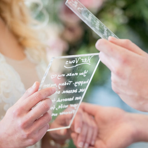 Clear Acrylic Pieces for DIY Wedding - Wedding Decor Gifts