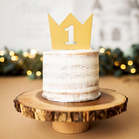 Crown Cake Topper - Wedding Decor Gifts