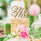 Mr & Mrs Wedding Cake Topper - Wedding Decor Gifts
