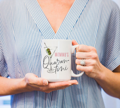 Funny Mug, Mug for Moms, Social Distancing Gift, Quarantine Gift - Wedding Decor Gifts