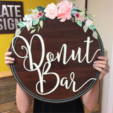 Donut Bar Sign