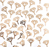 Diamond Ring Cupcake Toppers - Wedding Decor Gifts