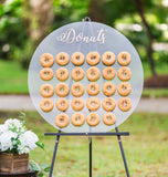 Donut Wall Donut Display - Wedding Decor Gifts