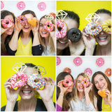 Donut Pattern Backdrop - Wedding Decor Gifts