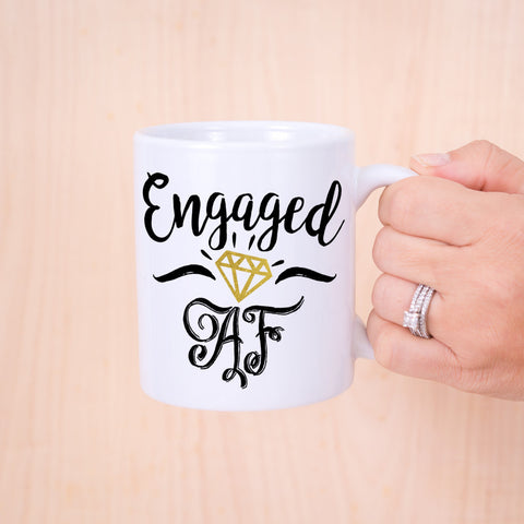 Engagement Mug - Wedding Decor Gifts