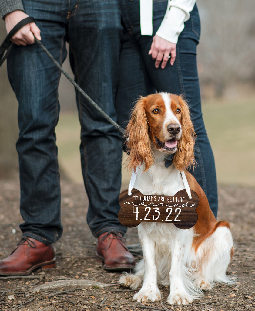 Pet Sign for Engagement Save the Date Photography - Wedding Decor Gifts