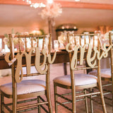 reception decor, wedding chair signs, reception signs