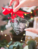 Christmas Ornament for Newlyweds - Wedding Decor Gifts