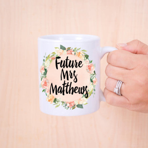 Future Mrs Mug - Wedding Decor Gifts
