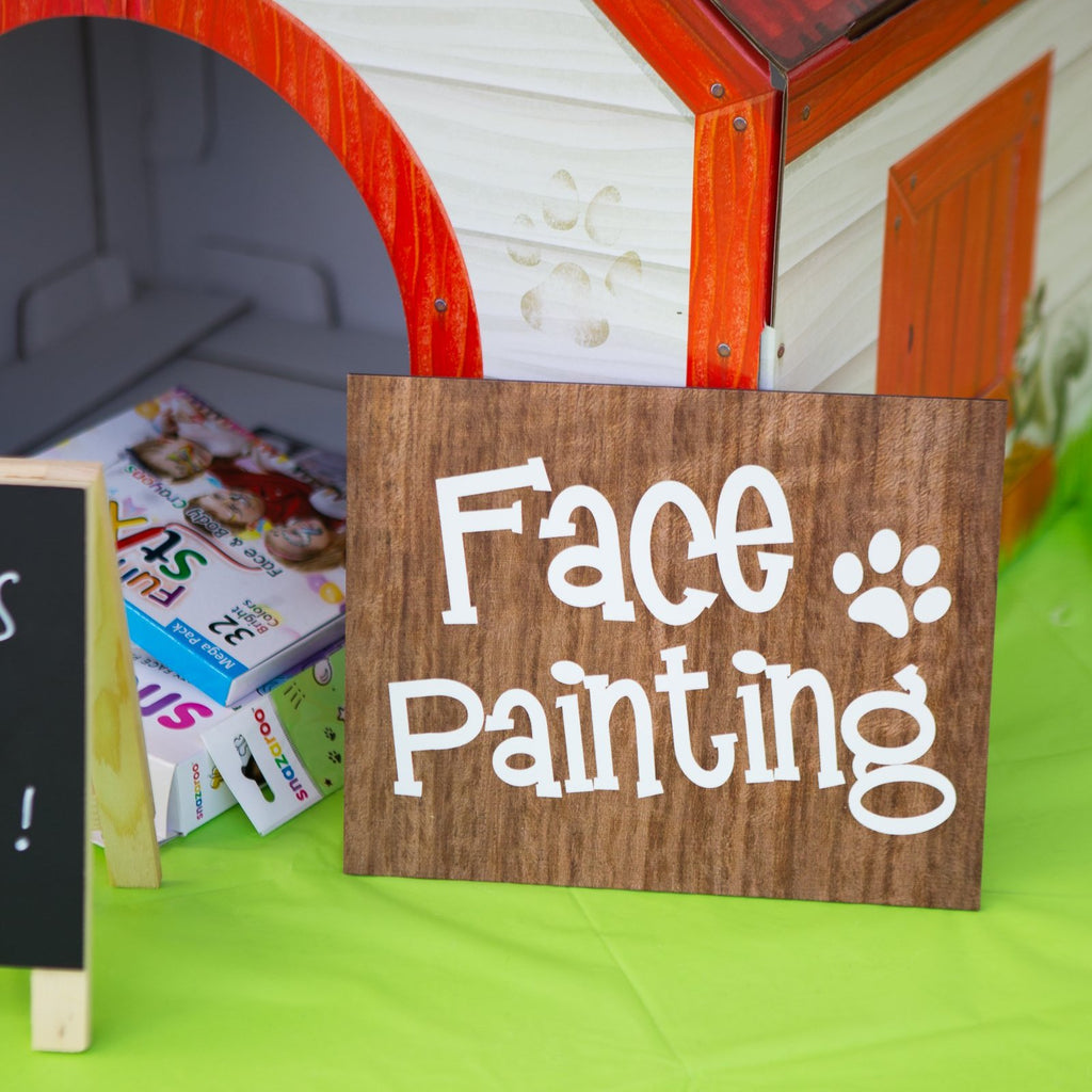 Face Painting Sign - Wedding Decor Gifts