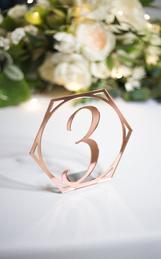 Fairytale Wedding Table Numbers - Wedding Decor Gifts