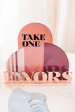 Favors Sign for Bridal Shower or Wedding, Bohemian Modern Style Terracotta Colors Boho Bridal Shower Decor Shower or Wedding