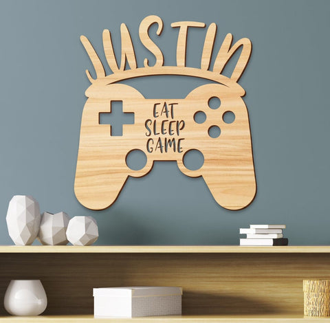 Gamer Kids Room Sign, Boys Room Decor