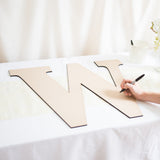 Large Monogram Guestbook Letter - Wedding Decor Gifts