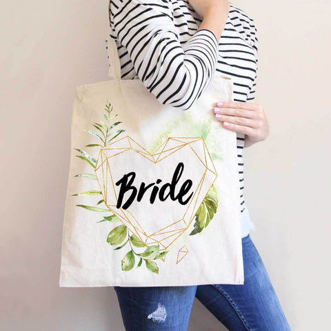 Geo Floral Wedding Bags - Wedding Decor Gifts