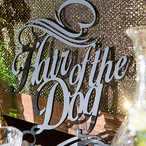 1920's Gatsby Style Bar Sign - Wedding Decor Gifts
