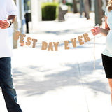 Best Day Ever Banner - Wedding Decor Gifts