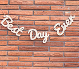 Best Day Ever Banner for Wedding Decoration or Photography - Wedding Decor Gifts
