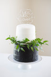 Geometric Wedding Cake Topper - Wedding Decor Gifts