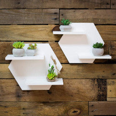 Hexagon Shelf Set for Wall - Wedding Decor Gifts