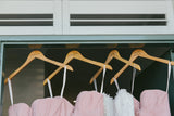 Engraved Wooden Bridal Party Hangers - Wedding Decor Gifts