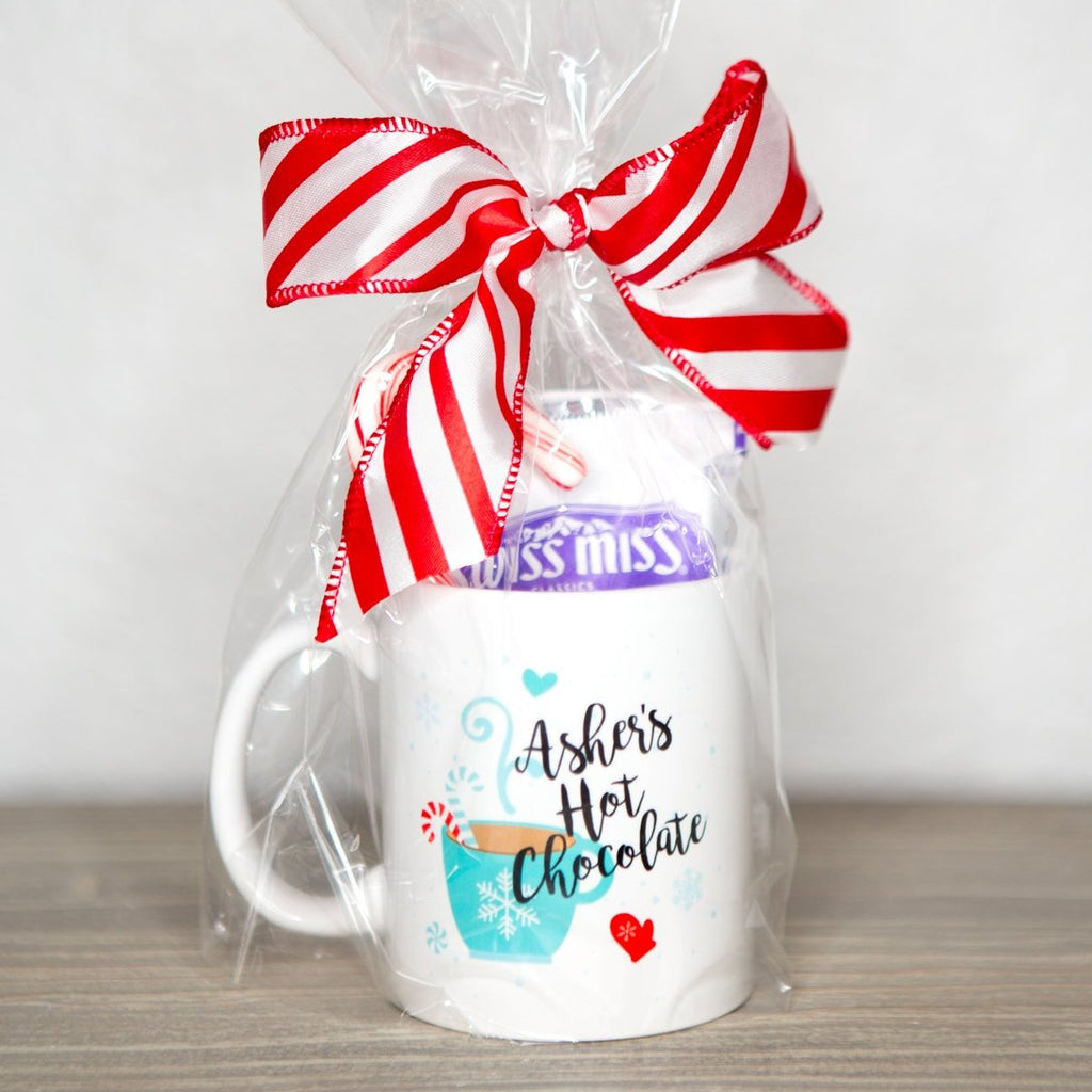 Hot Chocolate Mug Set - Wedding Decor Gifts