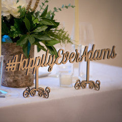 Wedding Hashtag Sign - Wedding Decor Gifts