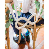 Infinity Wedding Chair Sign - Wedding Decor Gifts