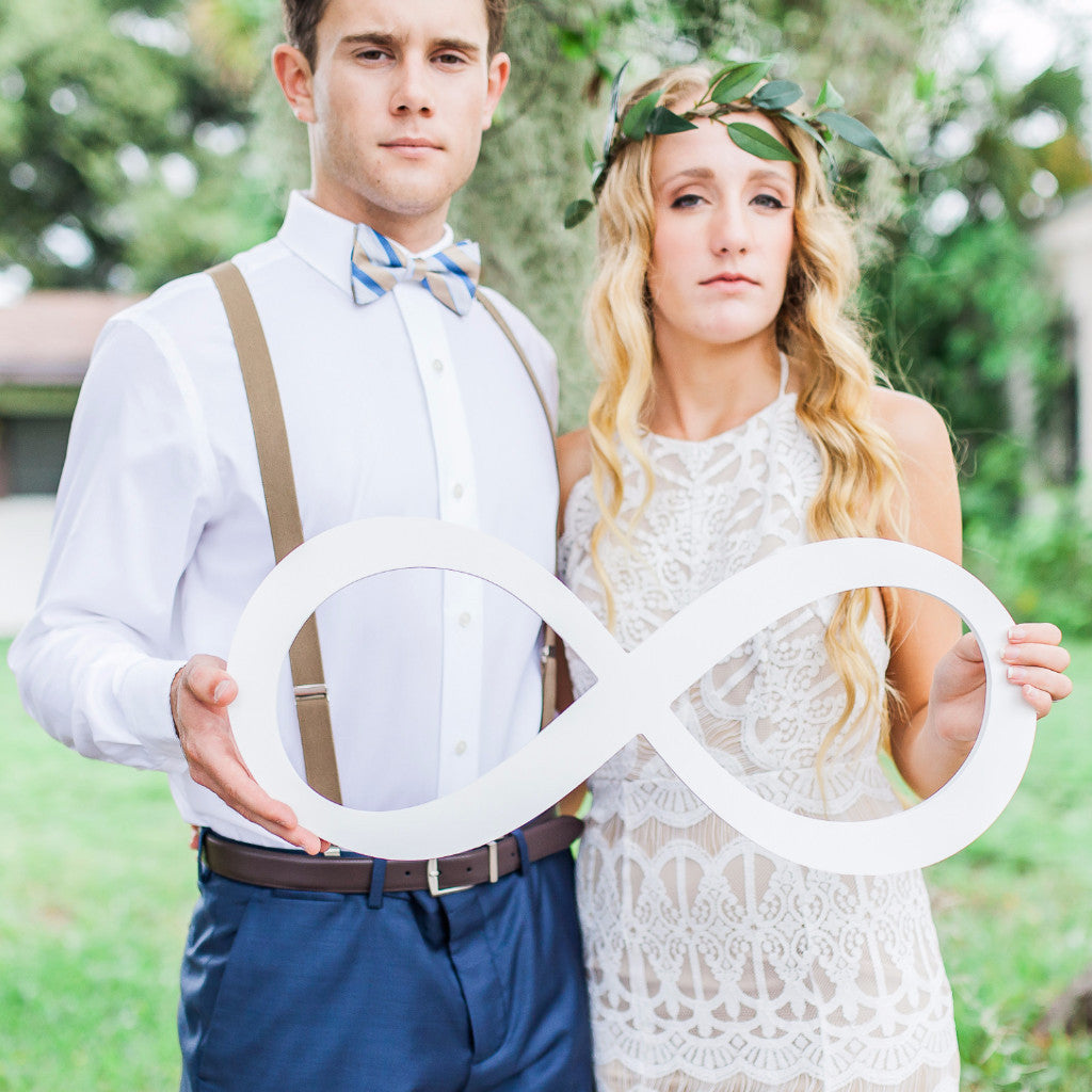 Wedding Photo Prop Infinity Sign - Wedding Decor Gifts