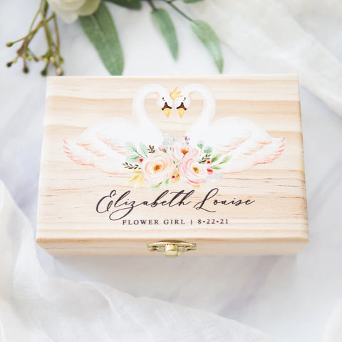 Flower Girl Gift Box - Wedding Decor Gifts