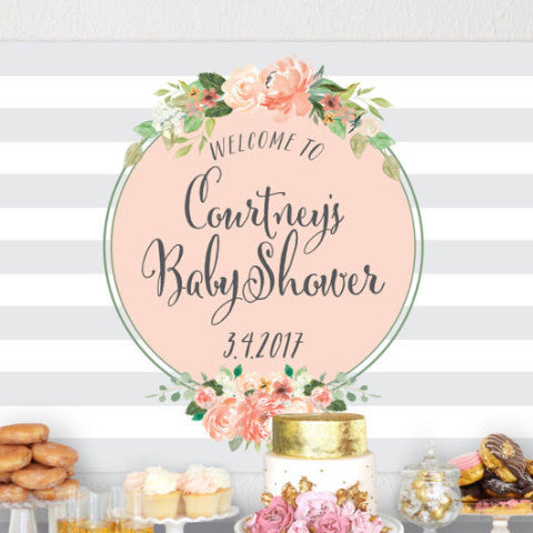 Baby Shower Backdrop - Wedding Decor Gifts