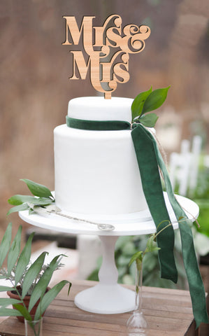 Cake Topper for Homosexual Wedding