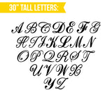 "30"" Tall Monogram Letter Sign - Wedding Decor Gifts"