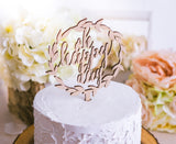 Boho Chic Wedding Cake Topper - Wedding Decor Gifts